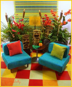 Perfect for my kids tiki room!! :D could be a little reading area ;D