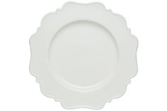 Pinpoint White Dinner Plate 11""