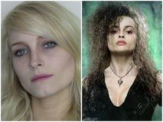 Bellatrix Lestrange Halloween Make-up Tutorial
