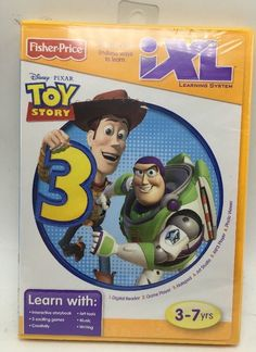 Fisher Price  iXL Learning System Software  Toy Story 3 New  | eBay