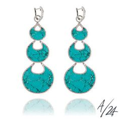 Annoushka Cloud Nine Chandelier Turquoise Earrings