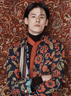 Photo by Kim Hyung Sik, model Kim Won Jung Pretty People, Beautiful People, Oriental Fashion, Boho Outfits, Male Models, Editorial Fashion, Fashion Models, Mens Fashion, Fashion Photography