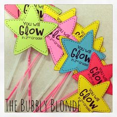 You will Glow in 1st Grade / Kindergarten Graduation Gift Idea