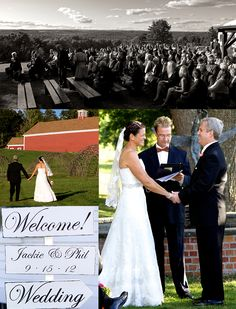 Phil & Jackie filled up the benches on their wedding day while Fireside Catering took care of the rest! #newenglandwedding #scenicwedding #firesidecatering #gardenwedding #newenglandweddingvenues