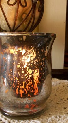 how to make your own mercury votives!!