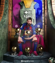 65 New ideas king skull tattoo awesome Lionel Messi Wallpapers, Ronaldo Wallpapers, Lionel Messi Barcelona, Barcelona Soccer, Ballon D'or, Messi And Ronaldo Wallpaper, Football Messi, Messi Poster, Cr7 Junior
