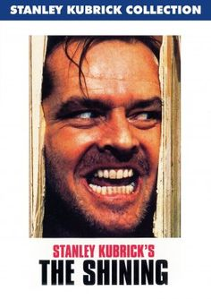 The Shining movie dvd cover