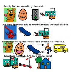 Articulation Stories by Elena Marie, SLP-stories for pre-K  students using Boardmaker. Pinned by SOS Inc. Resources.  Follow all our boards at http://pinterest.com/sostherapy  for therapy resources.