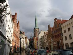 Englesgrube, Lubeck, Germany by Da Hammer, via Flickr
