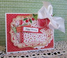 Love this card by Cheryl Nelson!  And yes, it's Cheryl, not Cherry for a change!