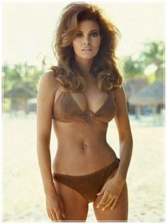 Raquel Welch- before plastic surgeons (in other words, made by God this way)