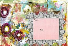 The official website of Roben-Marie Smith. Roben-Marie is a mixed media artist and instructor. She writes and teaches about art, business tips and shares art and technical tutorials. Mail Art Envelopes, Art Journal Pages, Journal Covers, Journal Prompts, Journal Ideas, Art Trading Cards, Fabric Journals, Art Journals, Envelope Art
