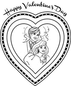 8 best Valentine Day Coloring Pages images on Pinterest | Coloring ...