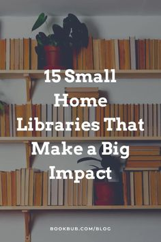 Searching for small home libraries to come up with some ideas for your decor? Start here. #books #homelibrary #bookshelves Small Home Libraries, Reading Nook Kids, Nook Ideas, Book Nooks, Great Books, Bookshelves, Searching, Big, Building
