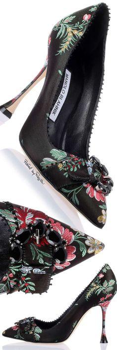 ✦ The Socialite's Shoes Manolo Blahnik