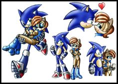 Sonic and Sally doodles by zeiram0034 on DeviantArt