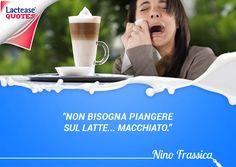 Sorridere fa bene all'umore e non solo... buon #lunedì amici di #LacteaseQuotes! Oggi vogliamo iniziare la #settimana con una famosa #citazione dell'attore comico siciliano Nino Frassica... ve la ricordate?