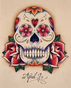 Its that time again. Tatt time.. Dia de los muertas it is.. Traditional for me..