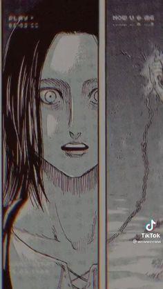 Anime Kiss, Sad Anime, Kawaii Anime, Eren Aot, Eren And Mikasa, Attack On Titan Comic, Attack On Titan Ships, How To Draw Anime Hair, Naruto Images