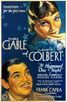 It Happened One Night : [i]Aconteceu Naquela Noite[/i]  1934      O primeiro que descobrir quem é o ator da foto de ontem ganha esse filme aí!  Lembrando a dica: [b]trata-se de um dos maiores comediantes da história do cinema, que teve seu auge na década de 30.[/b]    Continuem dando seus palpites por comentário privado!    O resultado sai amanhã à noite! |  Oscar de 1935