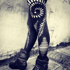 40 DIY Fun Leggings Designs & Tutorials - DIY Projects for Making Money - Big DIY Ideas
