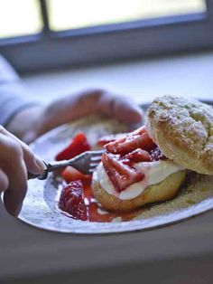 Strawberry Shortcake Recipe - Ellen Ecker Ogden