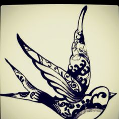 Tattoo idea:) Reminds me of the Norwegian Christmas ornament my grandmother gave me.