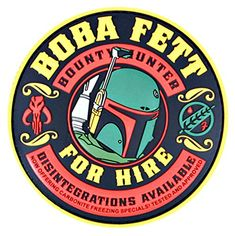 Boba Fett For Hire Morale Patch by Violent Little Machine Shop Star Wars Stickers, Cute Stickers, Boba Fett Art, Pop Art Women, Homemade Stickers, Black Cartoon, Star Wars Images, Cool Patches, Star Wars Fan Art