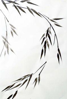 Bamboe takken