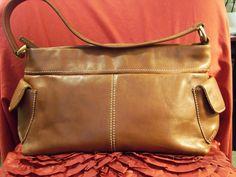 Fossil Leather Shoulder bag #75082 Sabel brown  #Fossil #ShoulderBag