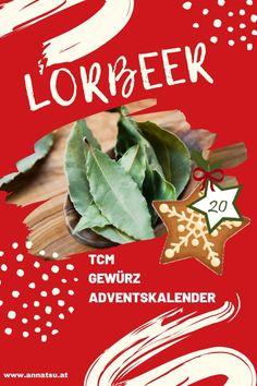 Hinter Türchen 20 meines Gewürz Adventskalenders verbirgt sich der Lorbeer. Ich verrate dir die Wirkung von Lorbeer sowie ein geniales Rezept in der Podcast-Folge vom Gewürz Adventskalender. #lorbeer #gewürzadventskalender #weihnachten #adventskalender