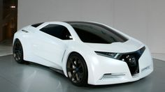 Honda FC Sport: Hydrogen Sports Car Concept Of The Future