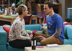 """The Big Bang Theory Tests """"The Intimacy Acceleration""""Procedure - 
