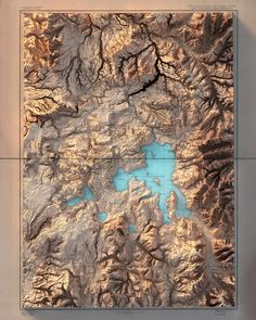 Yellow Stone National Park Wyoming Relief Map - The world's most private search engine City Layout, Viewing Wildlife, Fantasy Map, Map Design, Nose Art, Map Art, Large Prints, Artwork Prints, Fine Art Paper