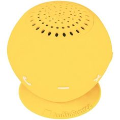 Audiosource Sp2Yel Sound Pop 2(Tm) Water-Resistant Bluetooth(R) Speaker (Yellow)