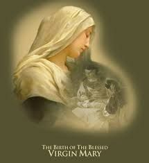 Pinterest Blessed Mother Mary, Blessed Virgin Mary, Nativity Of Mary, Gospel Reading, Religious Pictures, Divine Mercy, Holy Mary, Vintage Christmas Cards, Our Lady
