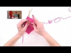 How to knit socks video Part V