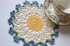 Cherry Heart: Blog: Dainty Doilies Lace Doilies, Crochet Doilies, Crochet Lace, Doily Patterns, Knitting Patterns, Crochet Patterns, Crochet Tutorials, Simply Crochet, Crochet Circles