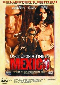 Rent Once Upon a Time in Mexico starring Antonio Banderas and Salma Hayek on DVD and Blu-ray. Get unlimited DVD Movies & TV Shows delivered to your door with no late fees, ever. Streaming Movies, Hd Movies, Movies Online, Movies And Tv Shows, Hd Streaming, Mickey Rourke, Pierce Brosnan, Enrique Iglesias, George Clooney