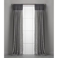 Opposites Attract in this Couture Dreams Luscious window curtain. The soft, luxurious, elegant silk velvet curtain is juxtaposed by a jute header. So sophisticated and romantic this curtain is a perfect pai Curtains And Draperies, Curtains Living, Velvet Curtains, Hanging Curtains, Window Curtains, Blackout Curtains, Gray Curtains, Bedroom Curtains, Elegant Home Decor