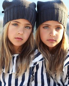 These twins are being called 'The most beautiful girls in the world' Beautiful Little Girls, The Most Beautiful Girl, Cute Little Girls, Beautiful Children, Twin Models, Child Models, Cute Girl Outfits, Kids Outfits, Cute Twins