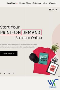 Create your online store and start selling your designs online. Manage and track your products efficiently. Also, you can promote the products on all sales channels and interact with clients on any platform!
