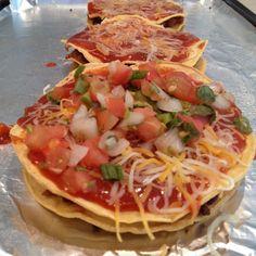 low calorie mexican pizza