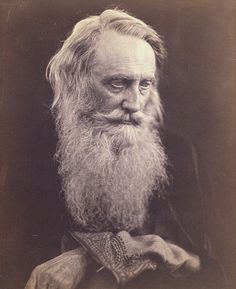 Henry Taylor, photo Julia Margaret Cameron. England, mid-19th century