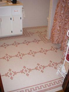 The O Jays Bathroom Floor Tiles And Pinwheels On Pinterest