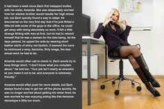 Great Shift TG Captions: High Stress - TG Captions from The New Great Shift Captions! Male Humiliation, Humiliation Captions, Feminization Stories, Captions Feminization, School Girl Outfit, Girl Outfits, High Stress Jobs, Flirting With Men, Tg Stories
