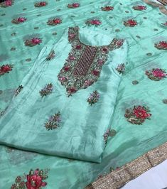 Patiala Salwar Suits, Punjabi Suits, Patiyala Suit, Indian Ethnic, Ethnic Fashion, Alexander Mcqueen Scarf, Fashion Dresses, Embroidery, Clothes For Women