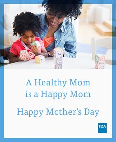 Happy #MothersDay! Keep your mom (or any mom) healthy with our resources.