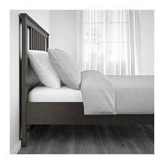 HEMNES Bed frame - Full/Double, Luröy - IKEA