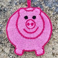 Pigs Potholder Crochet Pattern - Craftsy: Learn It. Make It.